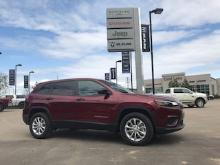 New 2019 Jeep New Cherokee Sport 4x4 SUV 1C4PJMAB5KD192854 for sale in Cold Lake AB