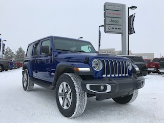 New 2020 Jeep Wrangler Unlimited Sahara SUV 1C4HJXEG0LW208685 N20-029 for sale in Cold Lake AB