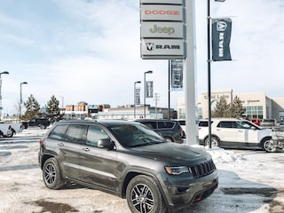 New 2018 Jeep Grand Cherokee Trailhawk SUV 1C4RJFLT8JC440190 18-374 for sale in Cold Lake AB