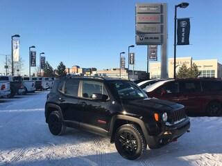 New 2018 Jeep Renegade Trailhawk SUV ZACCJBCB7JPJ15528 18-450 for sale in Cold Lake AB