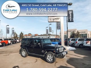 Pre-owned 2015 Jeep Wrangler Unlimited Sahara SUV for sale in Cold Lake AB