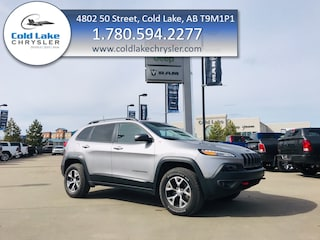 Pre-owned 2018 Jeep Cherokee Trailhawk Leather Plus SUV for sale in Cold Lake AB