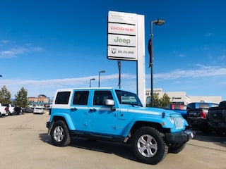 New 2017 Jeep Wrangler JK Sahara Chief Edition SUV 1C4BJWEG9HL631760 17-440 for sale in Cold Lake AB