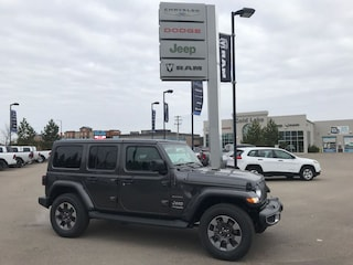 New 2018 Jeep Wrangler Unlimited Sahara SUV 1C4HJXEN0JW215258 18-405 for sale in Cold Lake AB