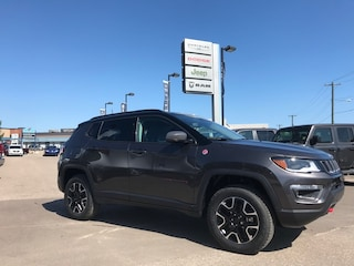 New 2019 Jeep Compass Trailhawk 4x4 SUV 3C4NJDDB5KT825950 N19-095 for sale in Cold Lake AB