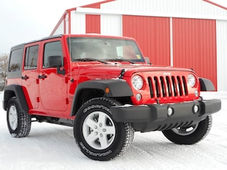 New 2018 Jeep Wrangler JK Unlimited Sport SUV 1C4BJWDG3JL863987 18-211 for sale in Cold Lake AB