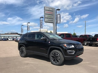 New 2019 Jeep Compass Trailhawk 4x4 SUV 3C4NJDDB7KT825965 N19-109 for sale in Cold Lake AB