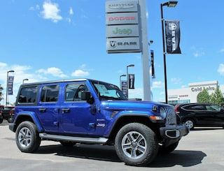 New 2018 Jeep Wrangler Unlimited Sahara SUV 1C4HJXEG1JW205677 18-347 for sale in Cold Lake AB