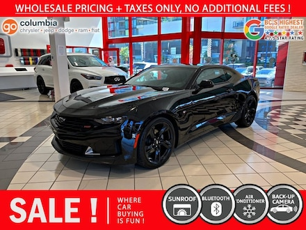 2019 Chevrolet Camaro Camaro Coupe 1LT - Sunroof / One Owner / No Dealer Coupe