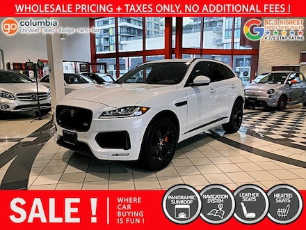 2019 Jaguar F-PACE S AWD - Accident Free / One Owner / Local / Nav SUV