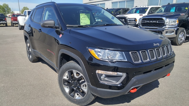 2018 Jeep Compass Trailhawk--Leather Group, Navigation Group-- SUV