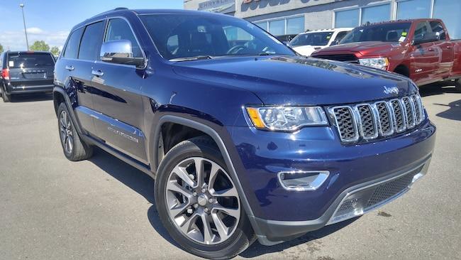 2018 Jeep Grand Cherokee Limited--Heated Seats and Wheel SUV