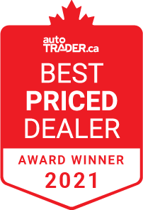 autoTRADER.ca Best Priced Dealer Award