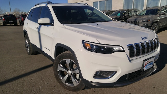 2019 Jeep New Cherokee Limited 4x4-remote Comfort Star, Heated Leather Se SUV