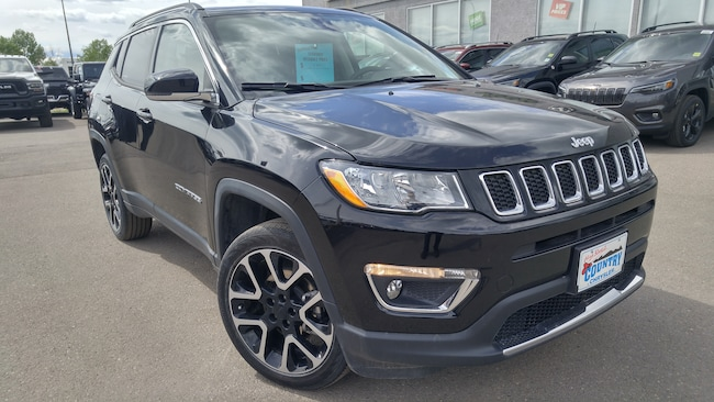 2018 Jeep Compass Limited---Navigation, Remote Comfort Start-- SUV