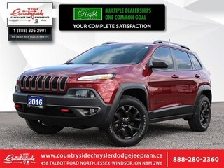 2016 Jeep Cherokee Trailhawk - Bluetooth SUV