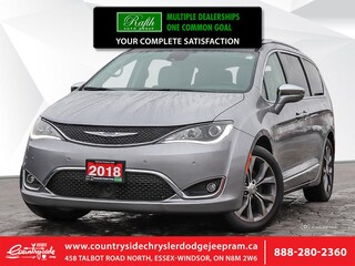2018 Chrysler Pacifica Limited - Leather Seats Van