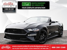 2018 Ford Mustang Ecoboost Fastback - Bluetooth Convertible