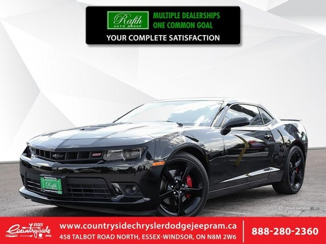Used Car Dealerships Windsor >> 2014 Chevrolet Camaro 2ss Bluetooth V8 Premium Audio Coupe