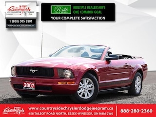 2007 Ford Mustang 2DR Conv - Low Mileage Convertible