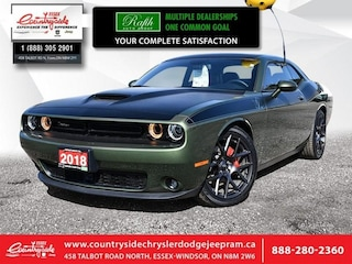 2018 Dodge Challenger R/T - Leather Seats - Sunroof Coupe