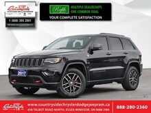 2017 Jeep Grand Cherokee Trailhawk - Sunroof SUV