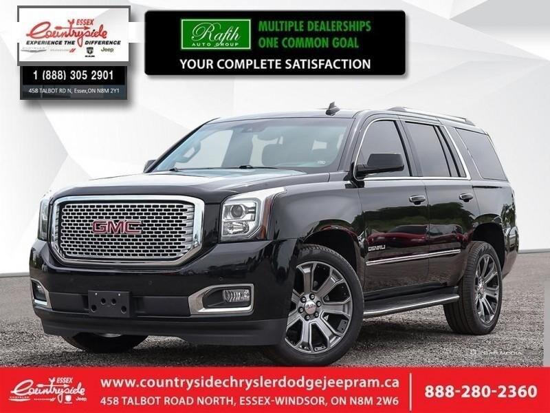 2016 GMC Yukon Denali - Navigation -  Leather Seats SUV