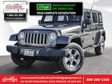 2016 Jeep Wrangler Unlimited Sahara -  A/C - Low Mileage VUS
