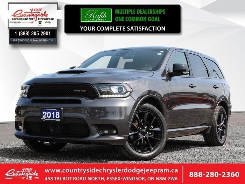 2018 Dodge Durango R/T - Navigation -  Leather Seats SUV