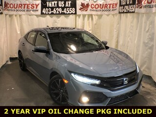 2018 Honda Civic Hatchback Sport Touring, winter rubber included Sport Touring Manual