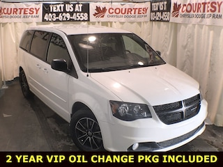 2017 Dodge Grand Caravan SXT, Blacktop Edition, Rear DVD Wagon