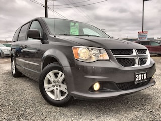 2016 Dodge Grand Caravan Crew plus Leather Van