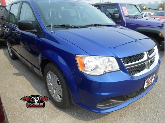 2018 Dodge Grand Caravan Canada Value Package Van