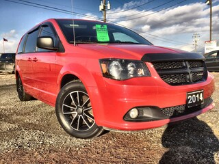 2014 Dodge Grand Caravan Blacktop Edition Van