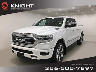 2019 Ram 1500 Limited Crew Cab   Sunroof   Navigation   12 Touch Limited 4x4 Crew Cab 57 Box