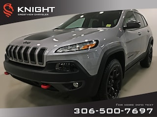 2018 Jeep Cherokee Trailhawk Leather Plus 4x4   Sunroof   Navigation Trailhawk Leather Plus 4x4