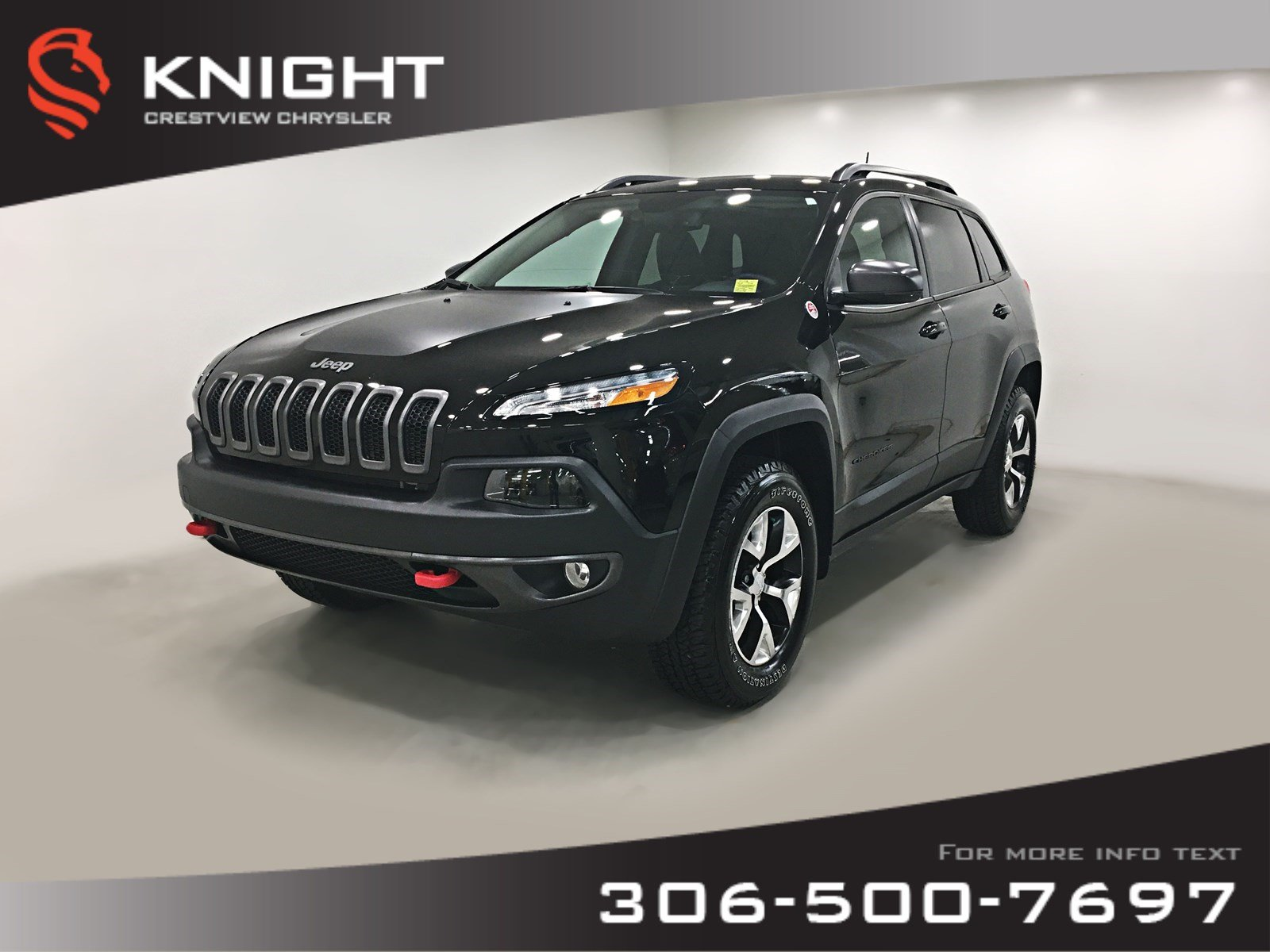 2018 Jeep Cherokee Trailhawk Leather Plus 4x4 | Sunroof | Navigation Trailhawk Leather Plus 4x4