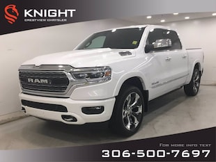 2019 Ram 1500 Limited Crew Cab | Sunroof | Navigation | 12 Touch Limited 4x4 Crew Cab 57 Box