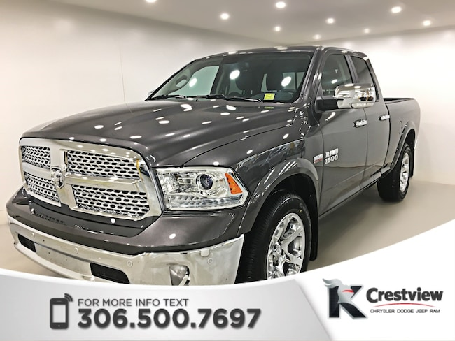 2017 Ram 1500 Laramie Quad Cab | Ventilated Seats | Sunroof | Re 4WD Quad Cab 140.5 Laramie