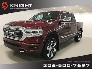 2019 Ram 1500 Limited Crew Cab | 12 Touchscreen | Leather | Sunr Limited 4x4 Crew Cab 57 Box