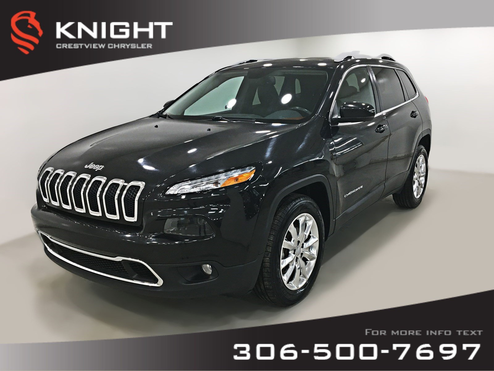 2015 Jeep Cherokee Limited 4x4 V6 | Sunroof 4WD  Limited