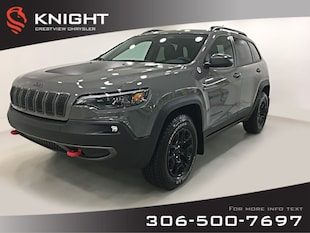 2019 Jeep Cherokee Trailhawk 4x4 V6 | Leather | Navigation | Remote S Trailhawk 4x4