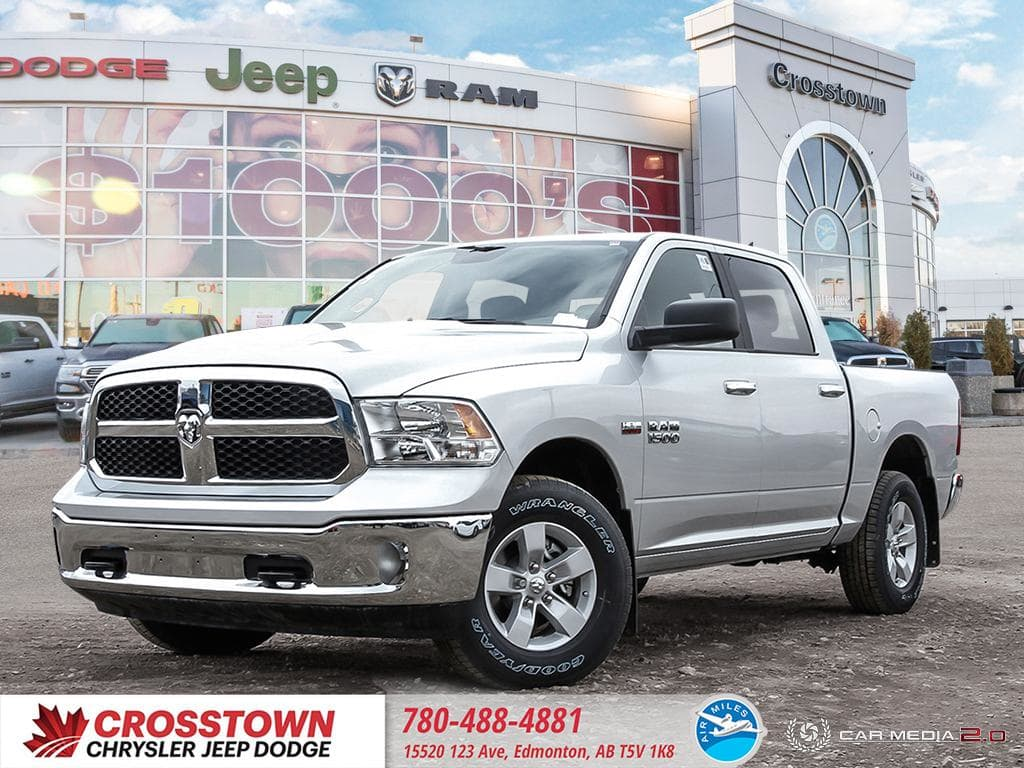 Featured Used 2018 Ram 1500 SLT Truck Crew Cab for sale near you in Edmonton, AB