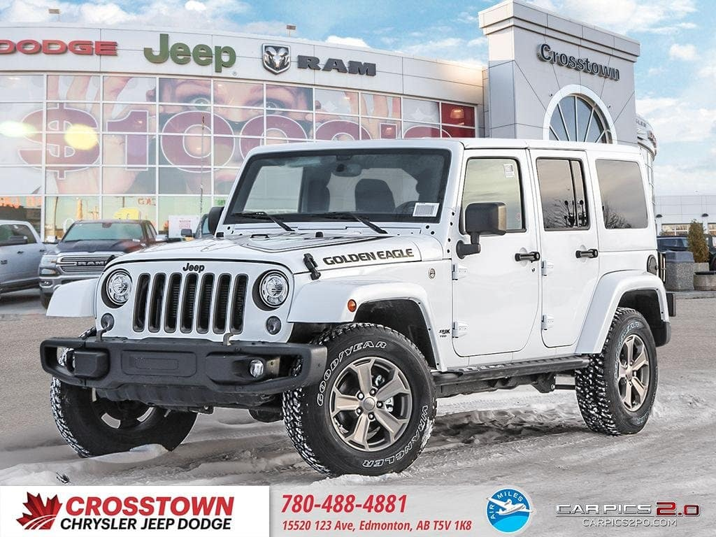 Featured New 2018 Jeep Wrangler JK Unlimited Sport Sport 4x4 for sale near you in Edmonton, AB