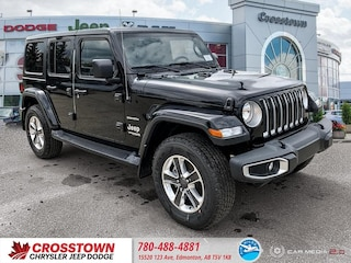 New 2018 Jeep All-New Wrangler Unlimited Sahara SUV 1C4HJXENXJW142786 for sale near you in Edmonton, AB