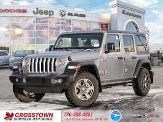 New 2018 Jeep All-New Wrangler Sport SUV 1C4HJXDG5JW125946 for sale near you in Edmonton, AB