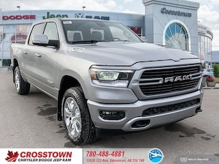 New 2020 Ram 1500 Big Horn Big Horn 4x4 Crew Cab 57 Box 20RC3672 for sale in Edmonton, AB