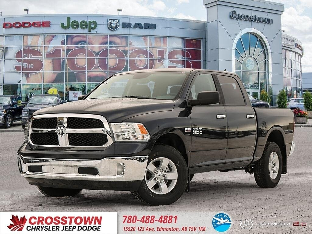 Featured Used 2018 Ram 1500 SLT SLT 4x4 Crew Cab 57 Box for sale near you in Edmonton, AB