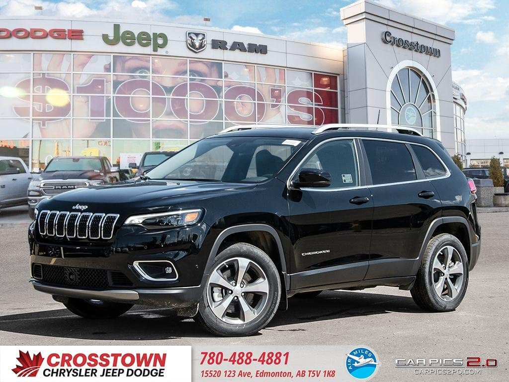 Featured Used 2019 Jeep Cherokee Limited Limited 4x4 for sale near you in Edmonton, AB