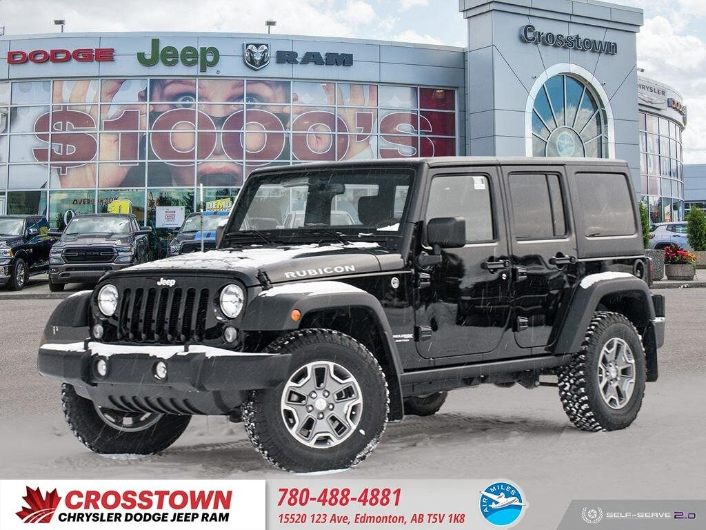 Featured Used 2018 Jeep Wrangler JK Unlimited Rubicon Rubicon 4x4 for sale near you in Edmonton, AB